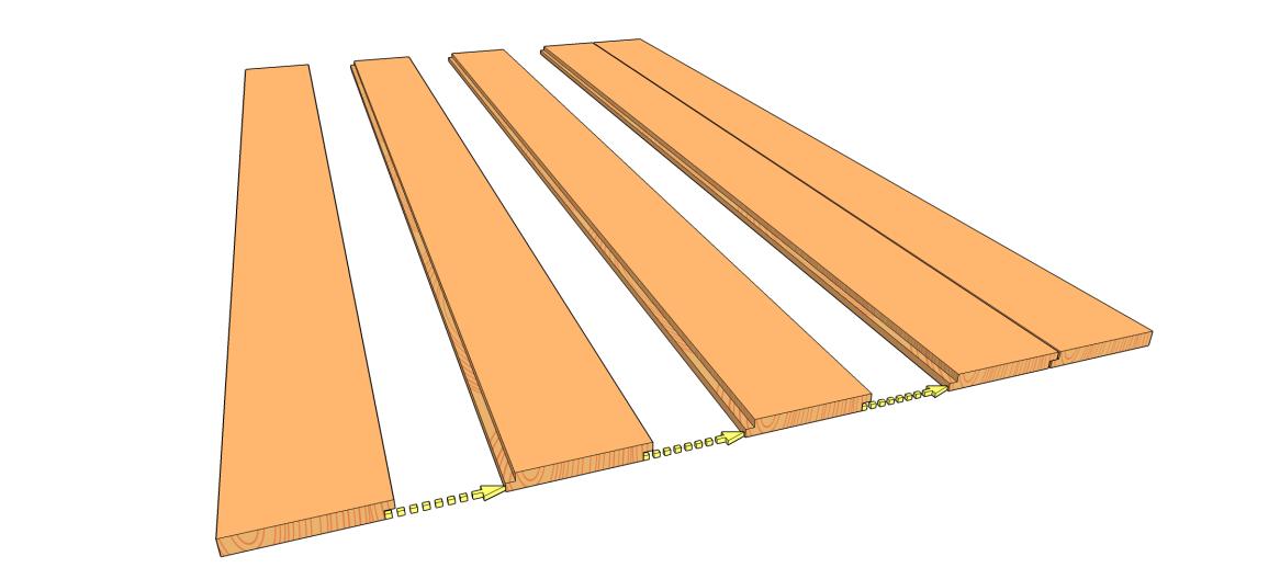 Vis pour plancher osb r f 11216500375 diam tre 4 5mm longueur 60mm for Construction bois 21