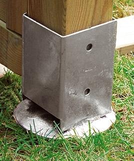 Les fixations de poteaux - Les guides de la Construction Bois