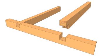 les types d 39 assemblages les guides de la construction bois. Black Bedroom Furniture Sets. Home Design Ideas