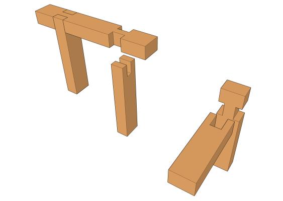 Les types d 39 assemblages les guides de la construction bois for Construction bois 93